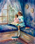 """Sharing A Story"" SOLD Prints Available"